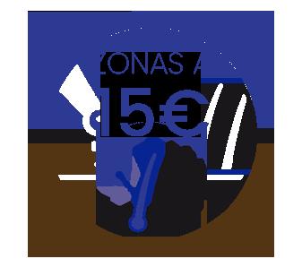 sesiones 15€ hombre
